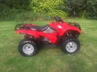 2013 Honda Trx 420 4x4 farm quad light use only vgc