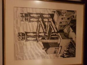 M.c Escher waterfall