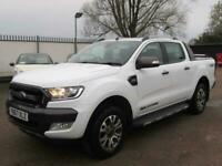2017 Ford Ranger 3.2 TDCi Wildtrak Double Cab Pickup Auto 4WD 4dr