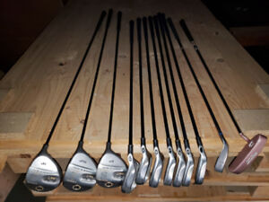 14 pc set of Golf Clubs with Bag- Right Handed
