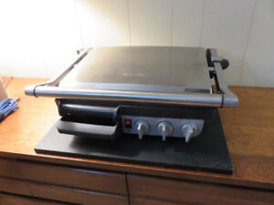 BREVILLE Indoor Grill and BBQ