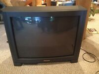 "27"" TV and Remote"