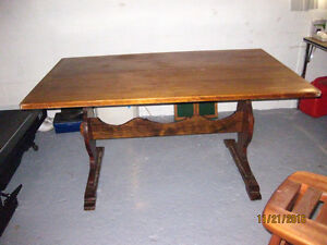Wooden Table Windsor Region Ontario image 1