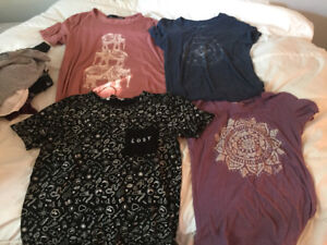 20 women's t-shirts size small and medium