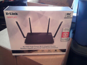 D-Link AC1900 High Power Wi-Fi Gigabit Router (DIR-878)