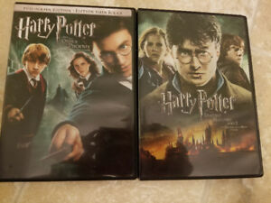 Harry Potter movies. Two