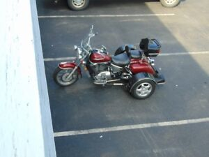 1998 HONDA SHADOW ACE TOURER VT1100 WITH VOYAGER TRIKE KIT