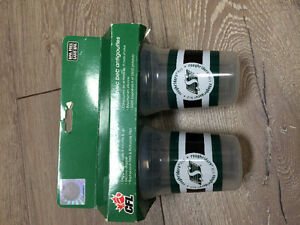 BRAND NEW CFL SASKATCHEWAN ROUGHRIDERS SIPPY CUPS Kitchener / Waterloo Kitchener Area image 1