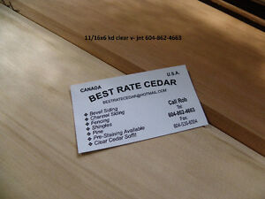 Cedar decking 5/4x4..5..6  2x4  2x6 cedar stk and clear!