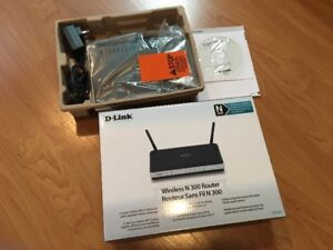 D-Link Wireless N 300 Router