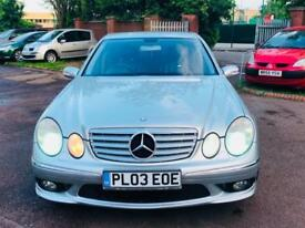 Mercedes-Benz E55 AMG 500 BHP.. nationwide Delivery