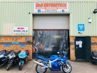 Triumph Tt600 sports bike 12 month mot 3 month warranty