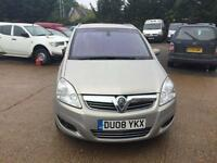 2008 Vauxhall Zafira diesel manual 7 seater
