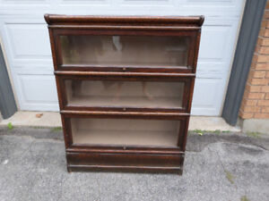 Antique/Vintage Barristers Bookcase