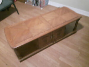 Coffee Table...Could Use a Paint Job.. (Free Delivery in Durham)
