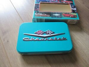 Chevrolet playing cards