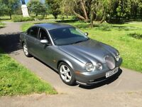 2003 jaguar s type only 60,000 miles recent mot stunning