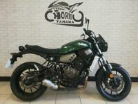 2016 /16 plate Yamaha XSR 700 in Met Green Naked can be restricted