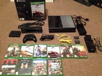 Xbox one, kinect, 10 games