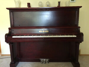 Antique 125 years old Upright Piano