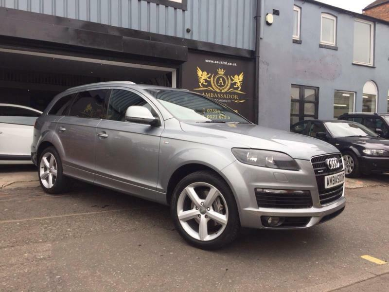 2007 audi q7 3 0tdi 229bhp auto quattro s line in edgbaston west midlands gumtree. Black Bedroom Furniture Sets. Home Design Ideas