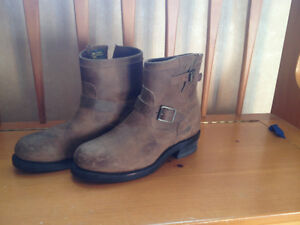 "Men's Chippewa 7"" Bay Crazy Horse Engineer Boots - Size 9.5 Peterborough Peterborough Area image 1"