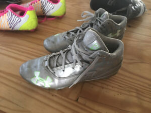 Souliers de Football Under Armour Silver grandeur 6