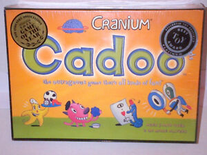 WOW The Original Cranium Cadoo Board Game NEW & UNOPENED!