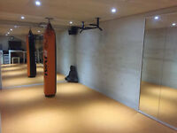 Muay Thai Private Trainer in Home Gym