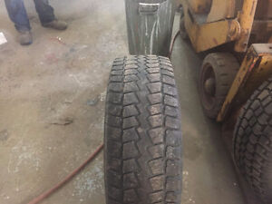 "265/65 17""Winter Tires on Rims for a Toyota Tacoma"