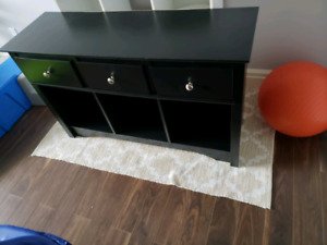 Server / bar... black finish.