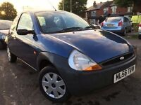 Ford KA 1.3 2006 + LOW MILES + MOT TILL DEC 2016 + DRIVES BEAUTIFULLY WELL