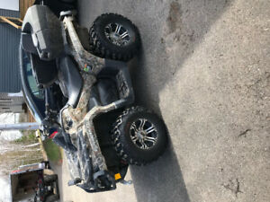 2014 can am outlander 1000xt. Trades possible