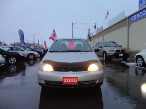2000 Toyota Echo Sedan E-TESTED & CERT Kitchener / Waterloo Kitchener Area image 2