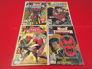 Night Trasher - Four Control (1991) 1-4 lot A complete
