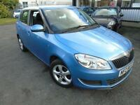 2013 Skoda Fabia 1.2 SE - Blue - Platinum Warranty Long MOT!