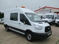 64 reg FORD TRANSIT T350 L3 H3 CREW, MESS UNIT, WELFARE TOILET VAN