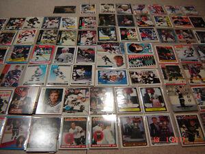 30,000 cartes de hockey + 10,000 cartes de baseball