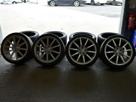 "19"" Riva BNZ Alloy Wheels will fit Audi A4, VW Passat ETC"