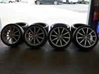 """19"""" Riva BNZ Alloy Wheels will fit Audi A4, VW Passat ETC"""