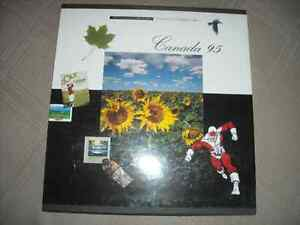 THE COLLECTION OF 1995 STAMPS CANADA