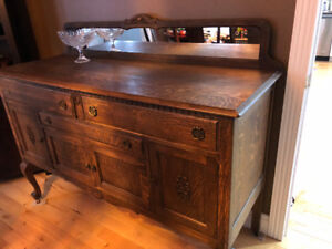 Dining room buffet/sideboard antique wood
