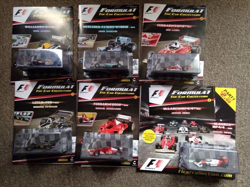 F1 The Car Collection In Plympton Devon Gumtree