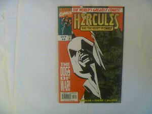 HERCULES by DC, Marvel and Charlton Comics