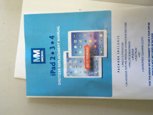 iPad 2 digitizer replacement kit