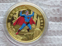 2015 14 karat gold coin iconic superman comic book cover