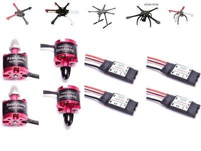 4x(2212 920KV Brushless Motor SIMONK 30A ESC) DJI F450 S500 F550 S550 Drone M31R