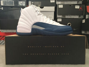 Jordan 12 French Blue SZ 9.5 & 8.5 DS w Receipt