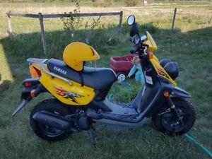 2008 Yamaha 50cc scooter.