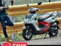 SYM FNX 125cc Automatic Scooter Moped Learner Legal Commuter Latest Technolog...